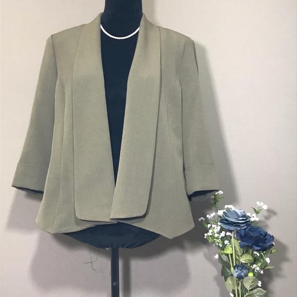 Jones Studio Jackets & Blazers - Jones Studio Sage Green Colored Blazer